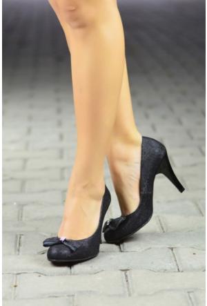 Peri Kızı Riyas Topuklu Ayakkabı Siyah