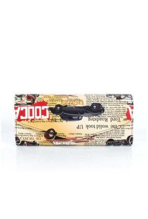 İroni Vintage Baskılı Çanta 3872