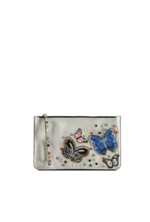 Marjin Silve Günlük Postacı Çanta Gümüş