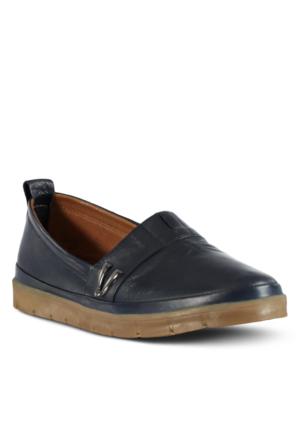 Marjin Venlar Düz Ayakkabı Lacivert