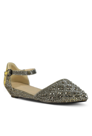 Marjin Angel Düz Ayakkabı Altın