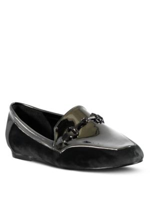 Marjin Jayne Düz Ayakkabı Gri Rugan