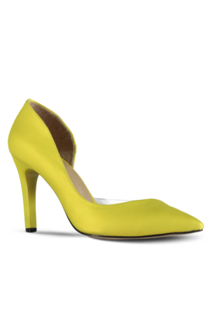 Marjin Jonas Topuklu Ayakkabı Sarı
