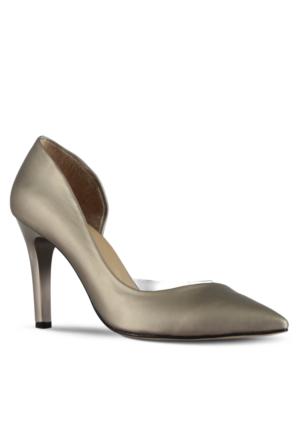 Marjin Jonas Topuklu Ayakkabı Gümüş