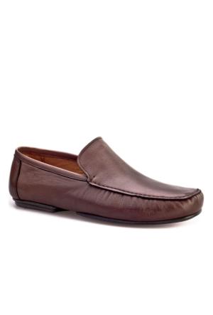 Cabani Makosen Günlük Erkek Ayakkabı Kahve Napa Deri