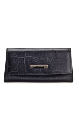 Versace 1969 Abbligliamento Günlük Kadın Çanta Siyah Deri