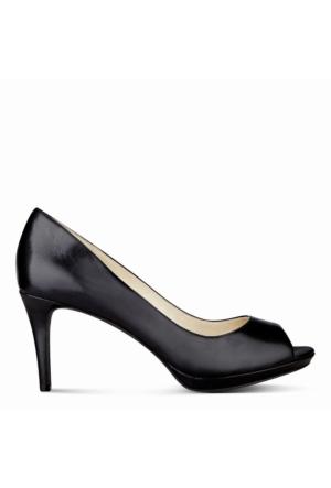 Nine West Nwgelabelle Siyah Gerçek Deri Ayakkabı