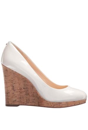 Nine West Nwhalenia3 Beyaz Sentetik Ayakkabı