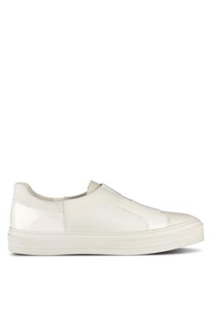 Nine West Nwobasi3 Beyaz Suni Deri Ayakkabı