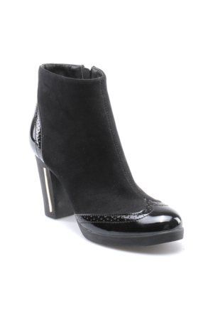 Miss F F17119 Siyah Kadın Business Ayakkabı