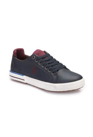 U.S. Polo Assn. A3375178 Lacivert Erkek Sneaker Ayakkabı