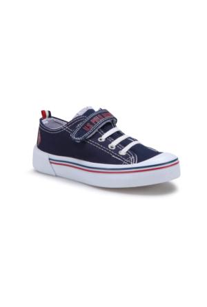 U.S. Polo Assn. Penelope Lacivert Unisex Çocuk Sneaker Ayakkabı