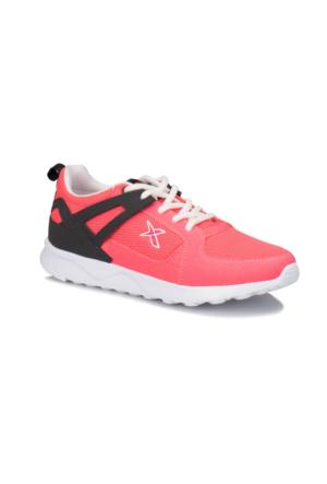 Kinetix Vino Neon Pembe Koyu Gri Kadın Sneaker Ayakkabı
