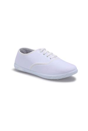 Polaris 71.354988.Z Beyaz Kadın Ayakkabı