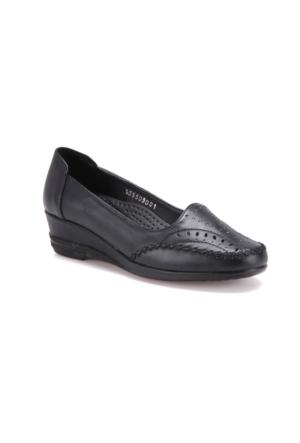 Polaris 71.155505.Z Siyah Kadın Ayakkabı