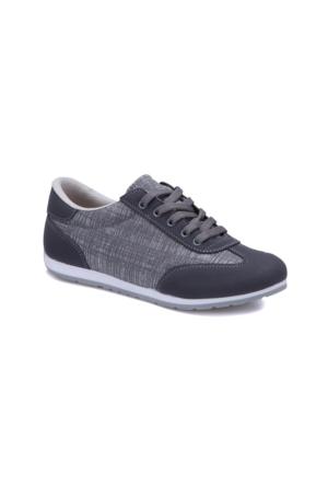 Carmens U1204A Antrasit Kadın Sneaker Ayakkabı