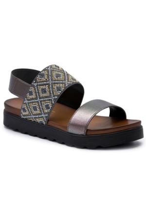 Gedikpaşalı 7912 Bronz Terlik-Sandalet