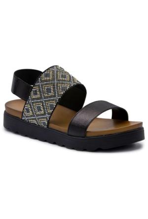 Gedikpaşalı 7912 Siyah Terlik-Sandalet
