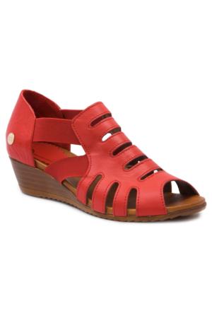 Mammamıa D17Ys1325 Kırmızı Terlik-Sandalet