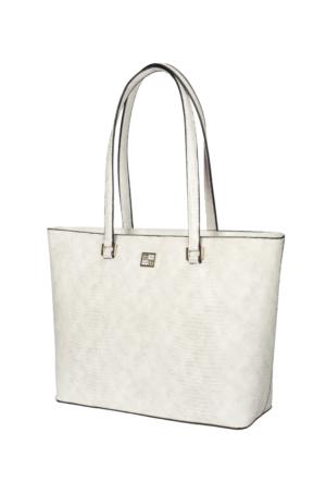 Roccobarocco Poliüretan Beyaz Çanta rbbs0y403