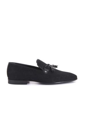 Kemal Tanca Erkek Siyah Ayakkabı 171KTE321 K9455