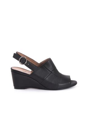 Kemal Tanca Kadın Siyah Sandalet 171TCK661 018