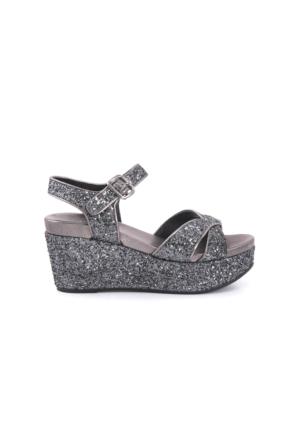 Rouge Kadın Antrasit Sandalet 171RGK114 5680