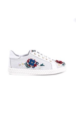 Rouge Kadın Beyaz Ayakkabı 171RGK257 B07