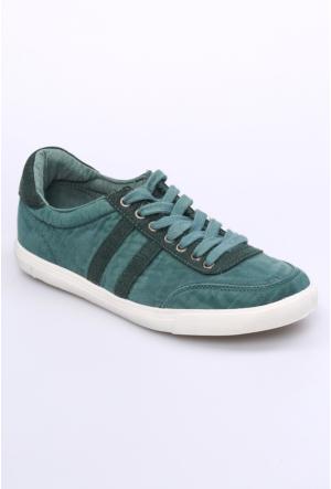 Dosteli Ayakkabı Yeşil Nbn Volga Keten Erkek Ayakkabı