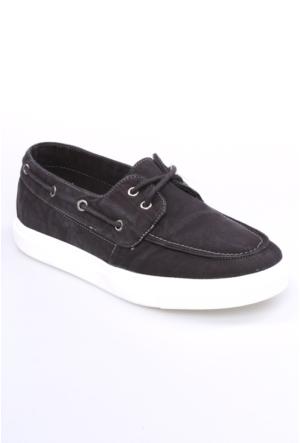 Dosteli Ayakkabı Antrasit Nbn Spery Keten Erkek Ayakkabı-140