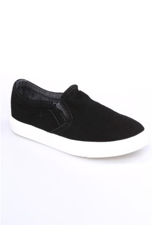 Dosteli Ayakkabı Siyah Nbn Yamaha Keten Erkek Ayakkabı