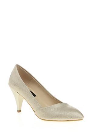Derigo Kadın Altın Ayakkabı