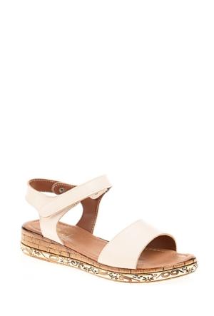 Derigo Kadın Pudra Sandalet