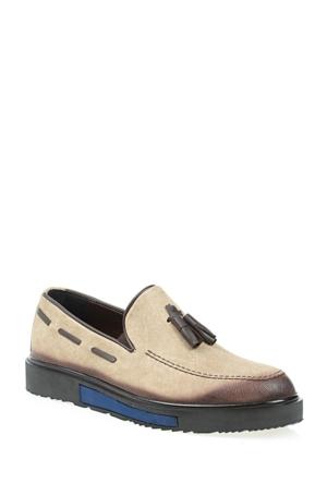 Derigo Erkek Bej Ayakkabı