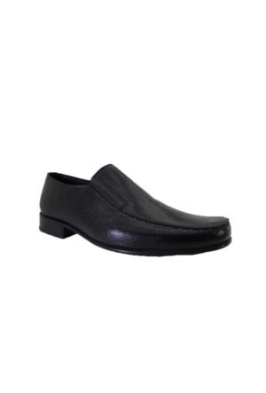 Güven Punto 0164144M Günlük Erkek Kösele Taban Klasik Deri Ayakkabı