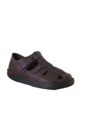 Forex 0508 Günlük Erkek Anatomik Deri Sandalet