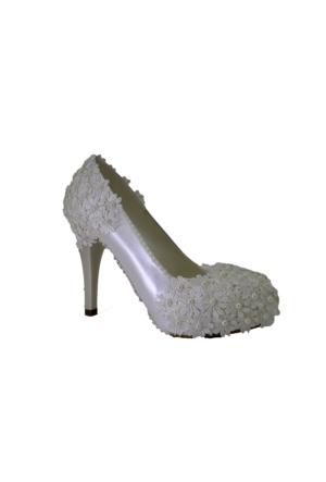 Despina Vandi Tnc 189-1 Kadın Platform Gelinlik Ayakkabı