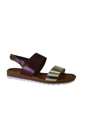 Despina Vandi Pndr 504-1 Günlük Kadın Deri Sandalet