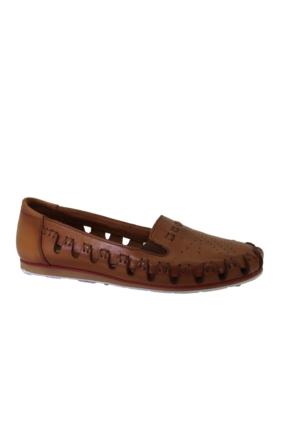 Despina Vandi Pndr B4569 Günlük Kadın Deri Babet Ayakkabı