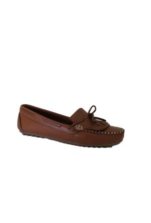 Despina Vandi Pndr H205 Günlük Kadın Deri Babet Ayakkabı