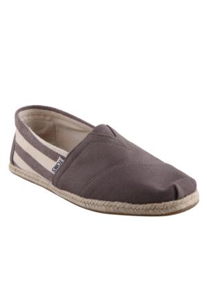 Toms 10005416 Dk Grey Stripe University Erkek Ayakkabı