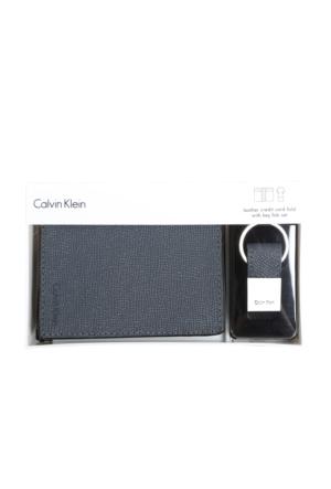 Calvin Klein 79596-Gry Cüzdan