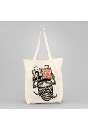 İf Dizayn Kafka Tasarım Bez Çanta
