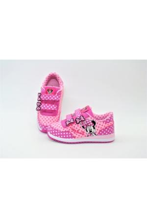Orijinal Lisanslı Minnie Mouse Kız Çocuk Spor Ayakkabı
