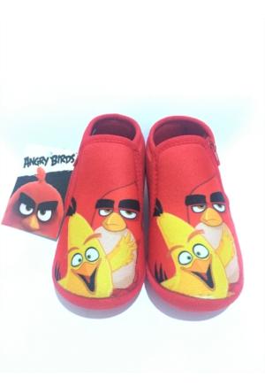 Orijinal Lisanslı Angry Birds Çocuk Panduf Anaokulu Ve Ev Ayakkabısı