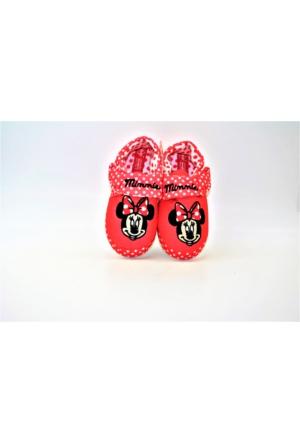 Orijinal Lisanslı Minnie Mouse Kız Çocuk Panduf /Anaokulu Ve Ev Ayakkabısı