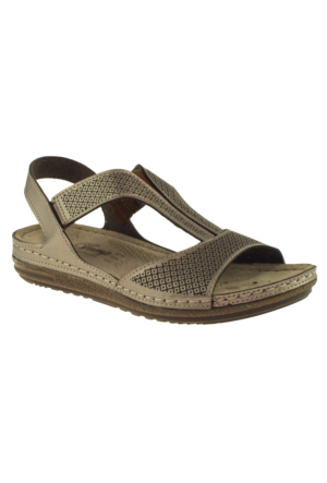 Jump 14768 Altın Kadın Sandalet