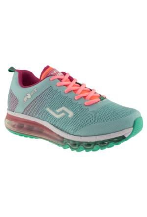 Jump 15505 Yeşil Kadın Spor Ayakkabı