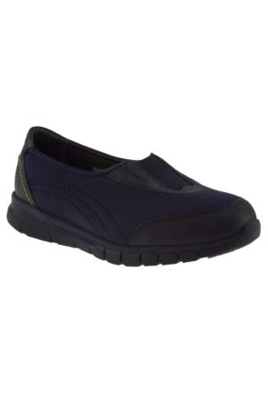 Forelli 35943 Streç Lacivert Kadın Ayakkabı