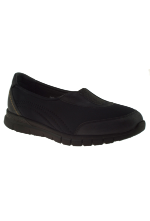 Forelli 35943 Streç Siyah Kadın Ayakkabı